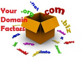 box with domain names