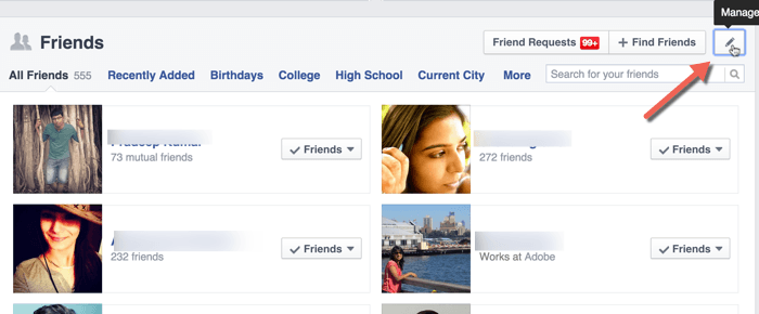 Manage-Facebook-friend-list-privacy