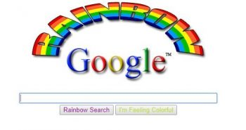 google gravity rainbow